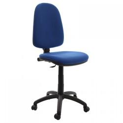 Scaun de birou CS-G-stofa albastru