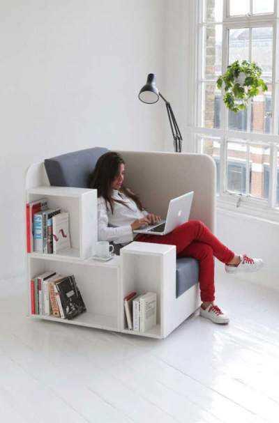Scaune-mini-biblioteca