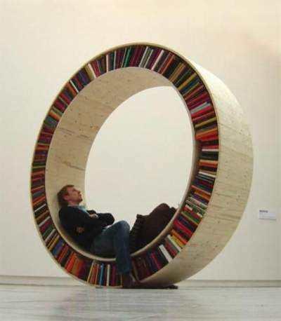 Scaune-mini-biblioteca-cerc