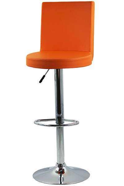 Scaun-bar-ABS-169-portocaliu