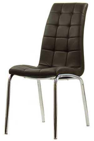 Scaune-de-sufragerie-crom-negru