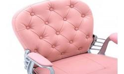 5 modele de scaune pentru birou si gaming pe culoarea roz