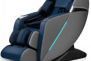 Fotoliu de masaj-comanda vocala, Joystick Zero Gravity, incalzire, muzica prin bluetooth, port USB