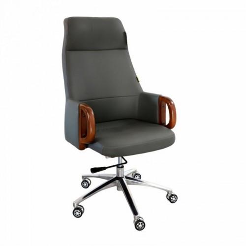 Scaun directorial-manager din piele nappa premium-grey-283A