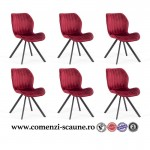 set 6 scaune de bucatarie si living-color