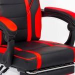 Scaun de gaming cu suport de picioare in 3 variante de culori