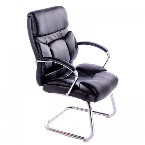 Scaun pentru birou si sali de conferinta-baza tip sanie metalica