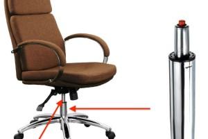 Schimbare piston pe gaz pentru scaun de birou