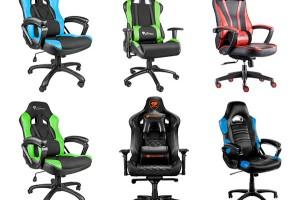 Scaune de gaming in diferite culori si modele