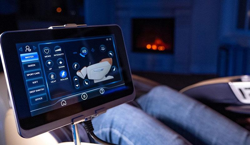 Fotoliu de masaj4D,Touch Screen, 12 Programe de masaj automate-Adriatica
