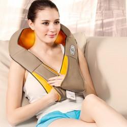 Dispozitiv de masaj cu incalzire pentru ceafa și umeri