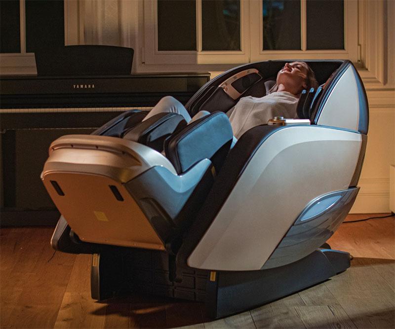 Fotoliu de masaj cu 9 programe automate de masaj și comanda vocală-SUPERIA-9