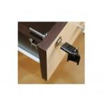 Comoda pentru birou-Office cu 3 sertare wenge-brad