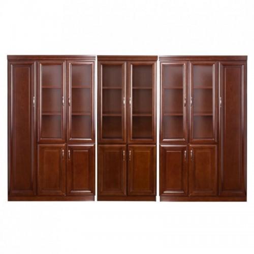 Set vitrina pentru birou directorial format din 3 piese-1208