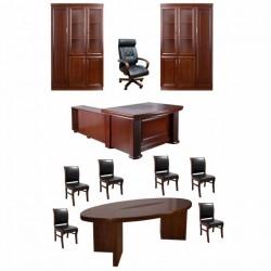 Set mobilier birou directorial 1821-11 piese