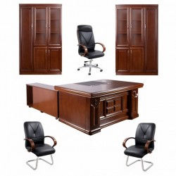 Set mobilier birou directorial 2405A-6 piese