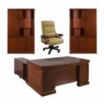 Set mobilier birou directorial 2475-4 piese
