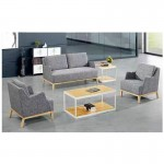 Set canapea si fotolii de birou gama mobilier directorial din material textil
