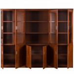 Dulap de birou cu vitrina pentru birou directorial-240 cm-4506