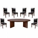 Set masă de conferință-consiliu pentru zona de protocol-0524-7 piese Transport Gratuit