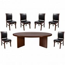 Set masa de conferinta-consiliu 0524-7 piese