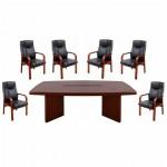 Set masă de conferință-consiliu pentru zona de protocol-7 piese