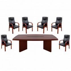 Set masa de conferinta-consiliu 1624-NR-7 piese