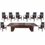 Set masă de conferință-consiliu pentru zona de protocol 9 piese -Transport Gratuit