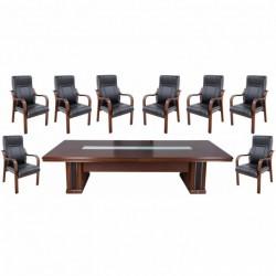 Set masa de conferinta-consiliu 3601-9 piese