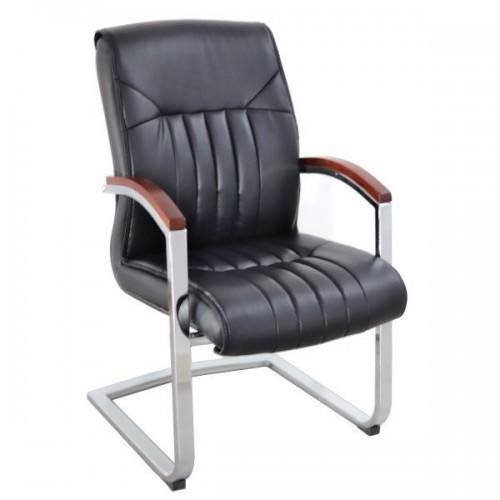 Scaun vizitator confort-mobilier directorial 130C-N