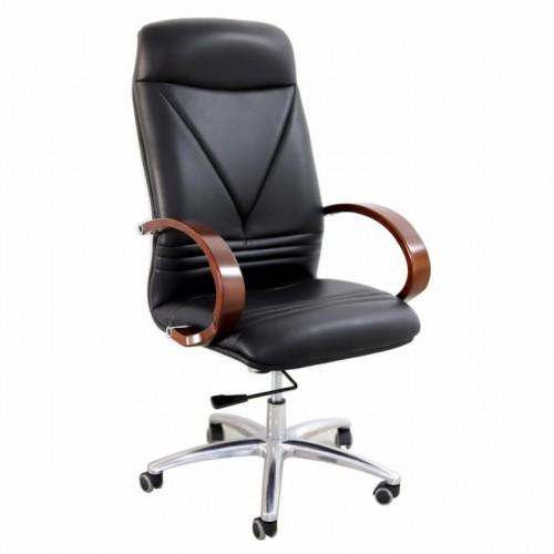 Scaun directorial-manager negru 055