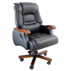 Scaun directorial-manager negru 186B