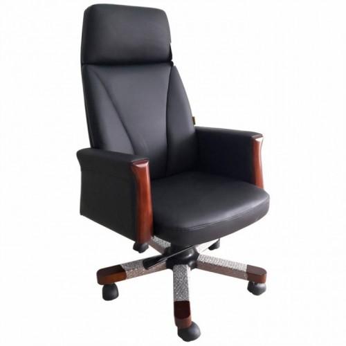 Scaun directorial-manager din piele nappa premium-negru-287A