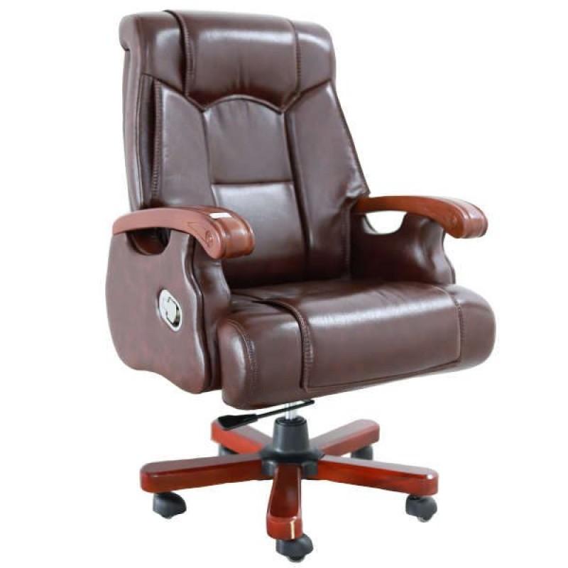 Scaune-manager-scaun-fotoliu-birou-piele-naturala-maro