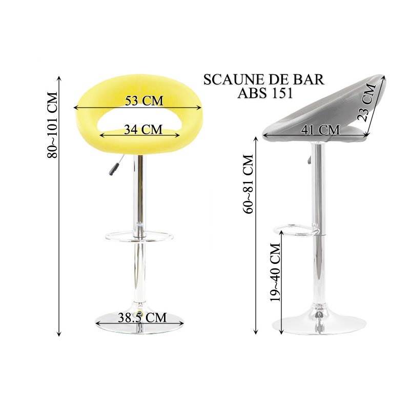 Scaune bar ABS151