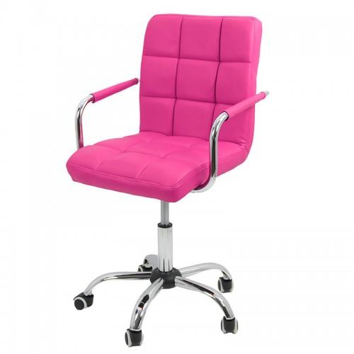 Scaune de birou pentru copii Office pe culoarea roz
