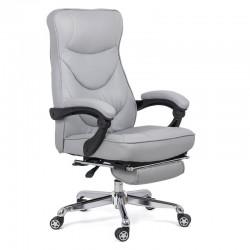 Scaun directorial de birou cu sistem rabatbil si suport de picioare