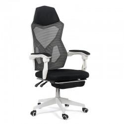 Scaun ergonomic pentru birou cu suport de picioare in 2 culori