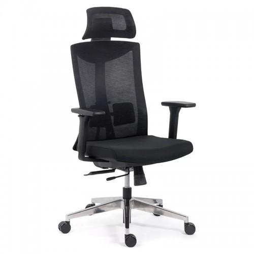 Scaun ergonomic multifunctional si elegant pe culoarea negru-SYYT-9501