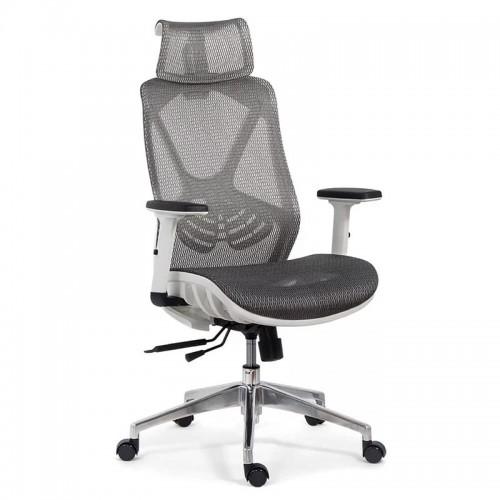 Scaun ergonomic multifunctional si elegant cu tetiera pe culoarea gri-SYYT-9503