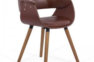 Cum arata scaunul de bucatarie si dining cu spatar rotunjit