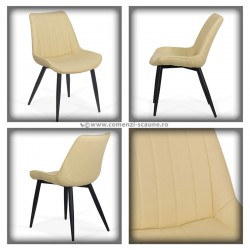 Set 4 scaun bucatraie-bej