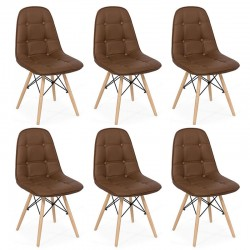 Set 6 scaune living-bucatarie 6 culori