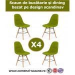 Set 4 scaune de bucatarie si dining in 6 culori - Set-4-BUC232N