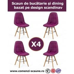 Set 4 scaune de bucatarie si dining in 6 culori