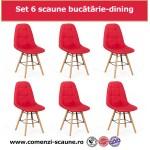 Set 6 scaune de bucatarie si dining in 6 culori