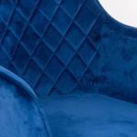 Scaune bucatarie cu spatar generos si tapiterie catifelata