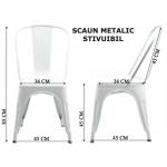 Scaune metalice stivuibile-HRC597