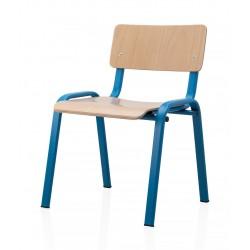 Scaun pentru gradinita albastru