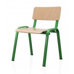 Scaun pentru gradinita verde
